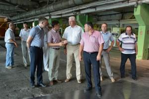 Председатель Правительства Астраханской области посетил фабрику