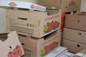 Астраханская фабрика тары и упаковки начала выпуск коробок с новым логотипом Астраханской области