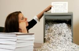 Срочная утилизация офисных документов