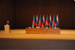 VII Российско-Азербайджанский Межрегиональный форум в г.Баку